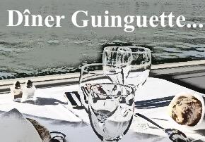 Croisière dîner sur le canal Saint Martin