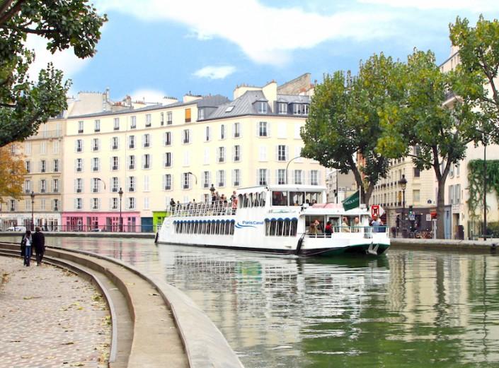 Péniche Canal Saint Martin Croisière