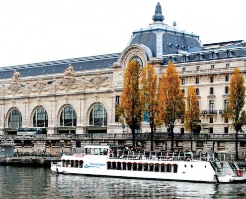 Bateau-Péniche-Musée d'Orsay-